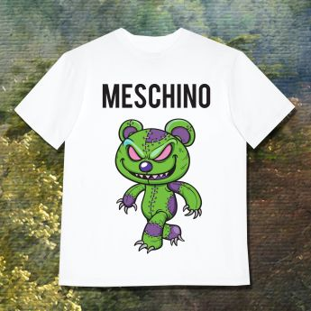 MESCHINO T-SHIRT GREEN