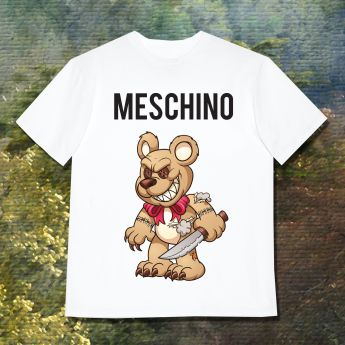MESCHINO T-SHIRT BROWN
