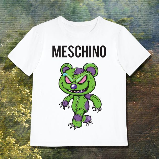 MESCHINO T-SHIRT GREEN - GUYS