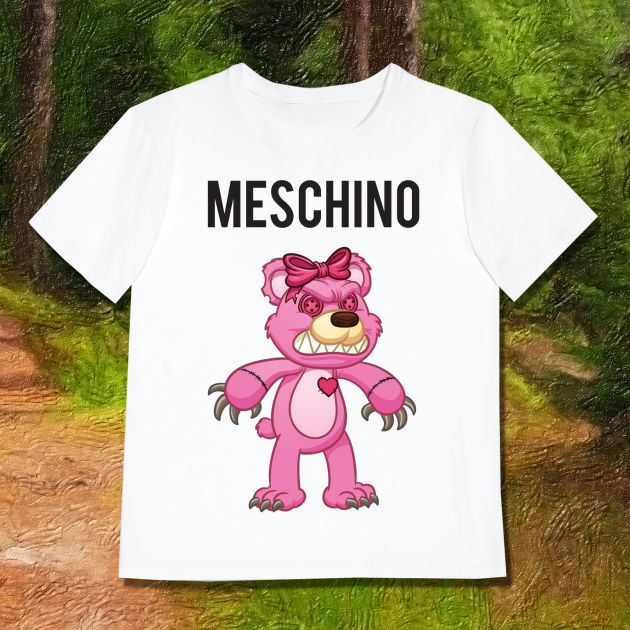 MESCHINO T-SHIRT PINK - GUYS